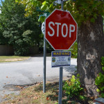 20 Crime Watch signs: ordered placed throughout the neighborhood. Officer Ryan McIntyre installed them.
